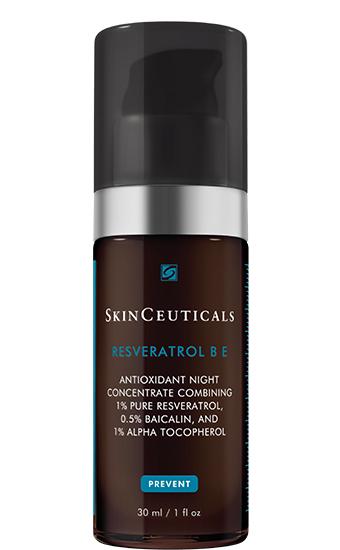 Resveratrol B E:  Concentré antioxydant de nuit : Répare les dommages cutanés accumulés et prévient leur réapparition