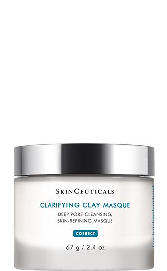 Clarifying Clay Masque:   Masque à l'argile pour les peaux mixtes, grasses et à imperfections