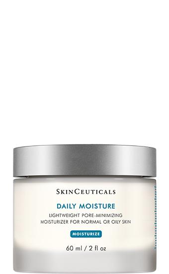 Daily Moisture:  Soin hydratant resserrant les pores pour les peaux normales à grasses