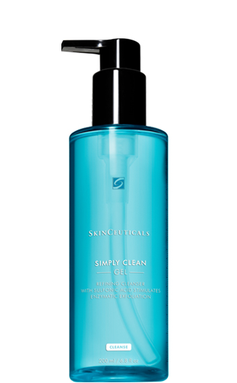 Simply Clean: Gel nettoyant purifiant, nettoie et affine le grain de peau en stimulant l'exfoliation enzymatique