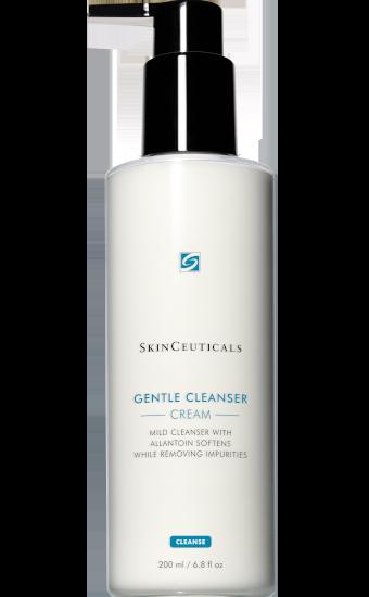 Gentle Cleanser: Lait nettoyant doux, adoucit la peau tout en éliminant le maquillage et les impuretés